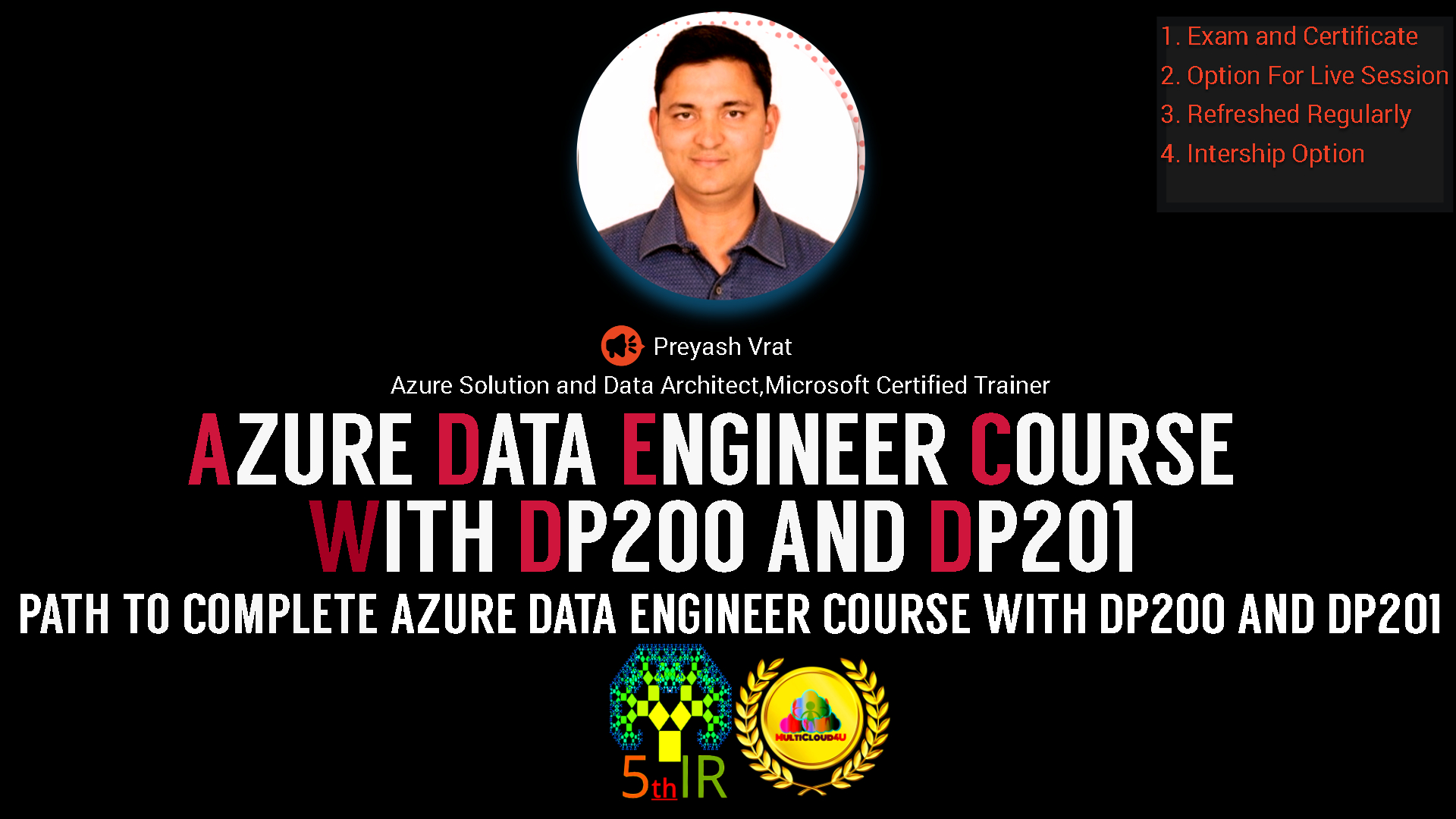 Azure Data Engineer Course With DP200 and DP201