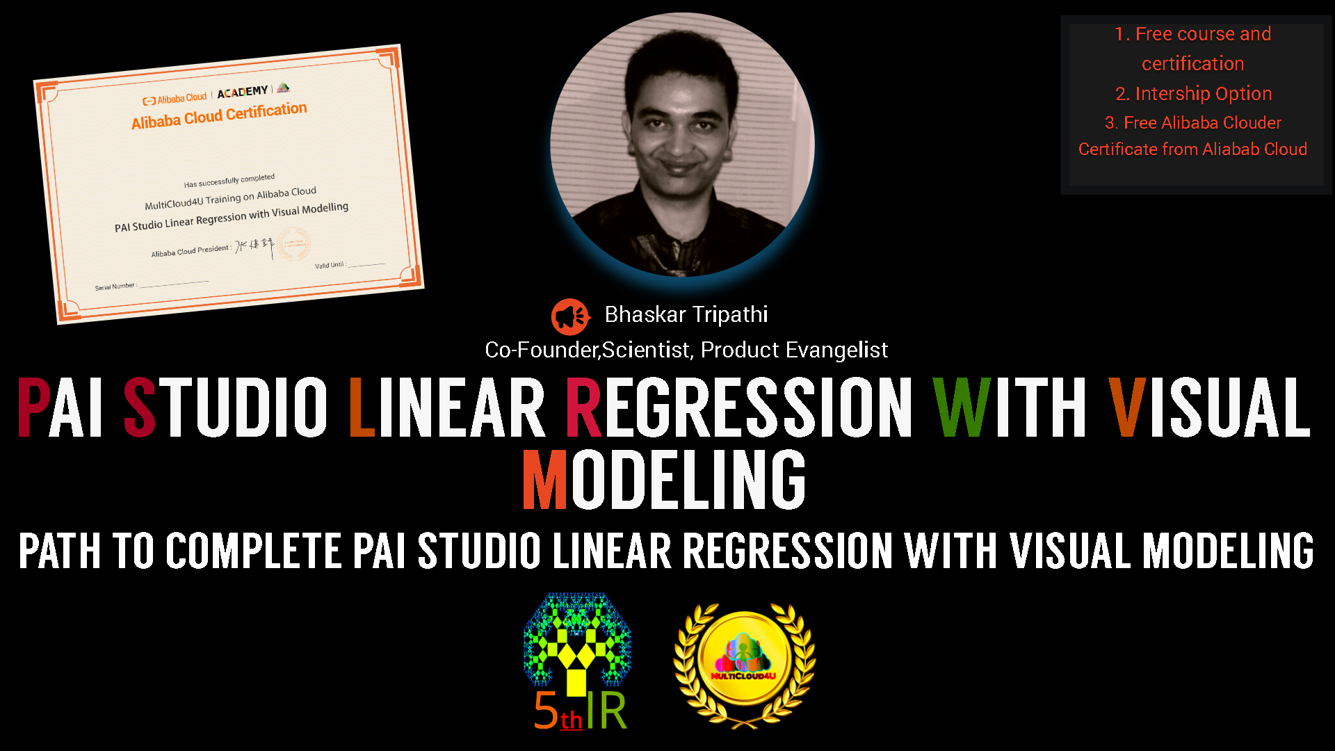 PAI Studio Linear Regression With Visual Modeling