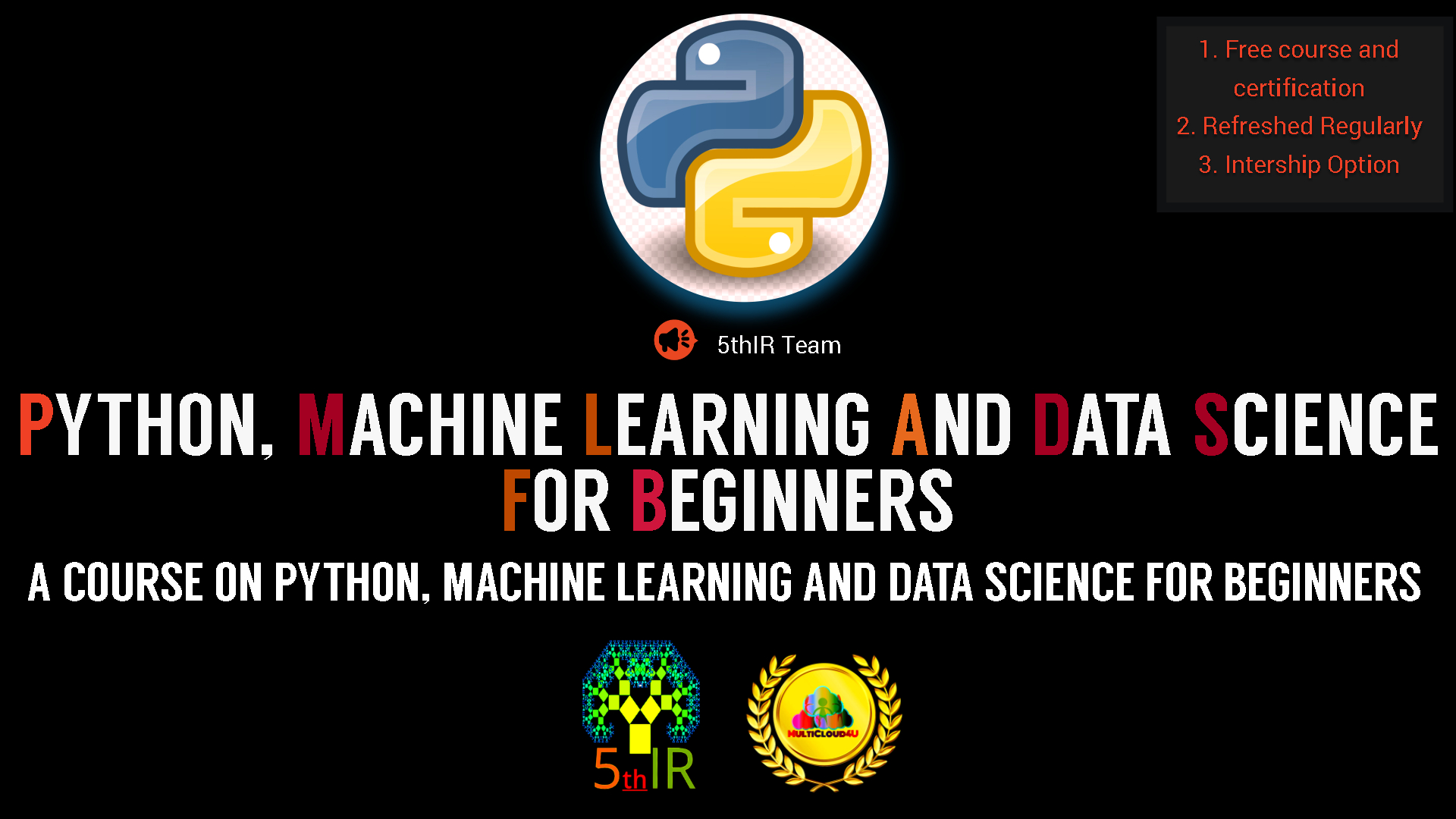 Python, Machine Learning  and  Data Science for beginners